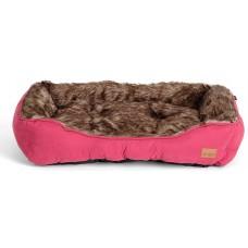 Agui Furry Bed - ЧЕРВЕНО меко легло 47 х 37 х 17 см, Португалия АG10192
