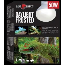 REPTI PLANET DAYLIGHT FROSTED 50W - оптимално съотношение на ултравиолетовата UVA радиация, светлинното излъчване и инфрачервеното (термично) лъчениe, Чехия 007-41022