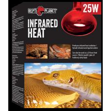 REPTI PLANET INFRARED HEAT 25W - повишава вътрешната температура на терариума, Чехия 007-41201