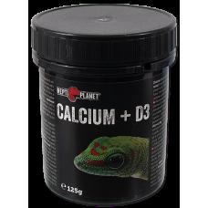 REPTI PLANET Calcium + D3 125 гр, Чехия 007-83012