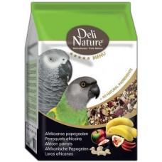DELI NATURE 5 звезди меню африкански папагал 800 гр BEDUCO Белгия 028506