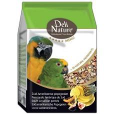 DELI NATURE 5 звезди меню южноамерикански папагал 800 гр BEDUCO Белгия 028507