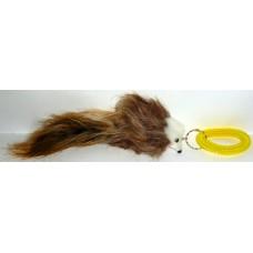 Играчка за котка Луда мишка с гривна пружина 17 см