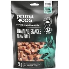 Prima Dog Training Snacks tuna bites - лакомства за обучение от чисто месо от сьомга 50 гр