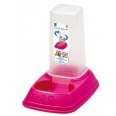 Диспенсър за храна и вода 2 в 1 MINI 0,7 лит 20 х 13,5 х 19h см GEORPLAST Италия 10087