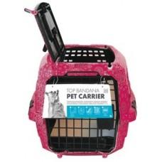 M-Pets Top Pet Carrier pink - транспортна чанта с горно отваряне размер М 47,5 x 32 x 26 см - 10200007