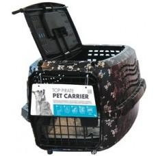 M-Pets Top Pet Carrier Pirate - транспортна чанта с горно отваряне размер М 47,5 x 32 x 26 см - 10200599
