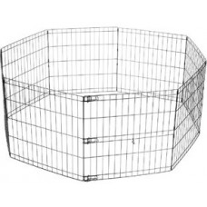 M-Pets Foldable Puppy Pen - ограждение за малки кученца, 8 елемента 62 x 66 см - 10400608