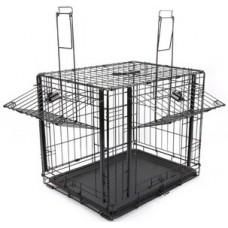 M-Pets Explorer Wire Crate - сгъваема метална клетка с отваряне на горе - размер XL 106,5 x 71 x 76 см - 10443808
