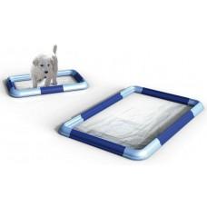 Тоалетна за куче подходяща за всички размери пелени GEORPLAST Италия 10520