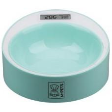 M-Pets Yumi Smart Bowl - умна купа с кантар до 2 кг, диаметър - 20 см ЗЕЛЕНА - 10520003