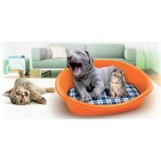 Пластмасово легло за куче и коте 46х35х18 см