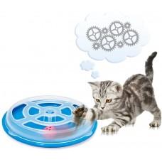 Играчка за котка, ИНТЕРАКТИВНА, с топче - 29 х 5 см, GEORPLAST ИТАЛИЯ - 10592