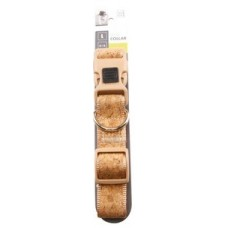M-Pets Cork Dog Collar - нашийник от корк, размер L врат 51 х 71 cм, дебелина 2,5 cм - 10805699