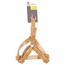 M-Pets Cork Dog Harness - нагръдник за кучета от корк, размер S гърди 25 х 35,5 cм, дебелина 1,5 cм - 10806099