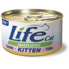 Life Cat Natural Kitten Tuna - с риба тон, за малки котенца 85 гр