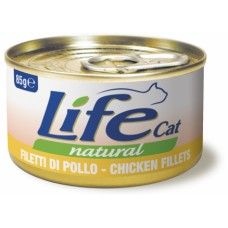 Life Cat Natural Chicken - с пилешко месо 85 гр