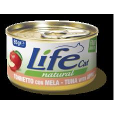 Life Cat Natural Tuna & Apple - с риба тон и ябълки 85 гр