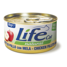 Life Cat Natural Chicken & Apple - с пилешко месо и ябълки 85 гр