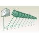 Кепче за ловене на риби - телена дръжка и мрежа - 7,6 см А1129