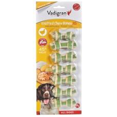 Vadigran KNOTTED CHEWBONE CHICKEN - пилешки вързан кокал, за бели зъби и висока устна хигиена 115 гр - 6,5 см, Белгия - 13348