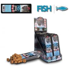 Alpha Spirit Cat snack semi-moist Fish - Полу-влажно Лакомство от Риба - КОМПЛЕКТ 4 х 35g хапки