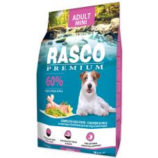 RASCO Premium Adult Small - Премиум храна с пиле и ориз за пораснали кучата от мини породи, 7 кг, Чехия 1704-10315