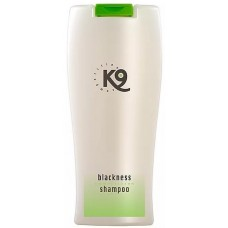 K9 BLACKNESS ШАМПОАН ЗА ЧЕРНА КОЗИНА - успокояващо върху чувствителната кожа, осигурява оптимален баланс на влажността, прави козината здрава и подхранена - 300 мл - Швеция 20-140