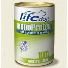 Life Natural Lifedog Monoprotein Duck - с патешко месо / монопротеин / 400 гр