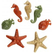 Elkwood Vegetable Sea Creatures Dental treat for dog - Зеленчукови Дентални лакомства за куче, Морски свят 30 g - Pet Brands АНГЛИЯ 20137