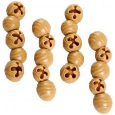 Elkwood Rattlesnaps Dental Chew Peanut & Pumpkin Chicken for dog - Дентални лакомства Сфери, с Пиле, Фъстъци и Тиква 100 гр - 4 бр - Pet Brands АНГЛИЯ 20142