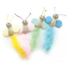 Играчка за котки M-Pets BUTTERFLY - Fluorescent fabric - флоурисцираща Пеперуда 25 x 10 x 2 cm - Белгия 20600899