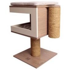 Драскало за котка - M-Pets Richard Cat tree - столче с две възглавници, 40 x 40 x 62 см Белгия - 20627199