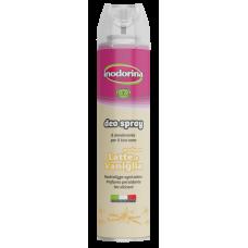 Inodorina Deo Spray Milk and Vanilla - Мляко и Ванилия 300 мл 21.6.2