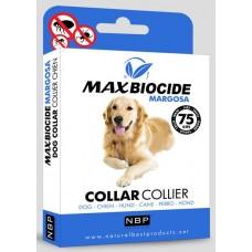 Натурална противопаразитна каишка за куче с маргоза - 75 см