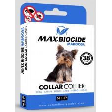 Натурална противопаразитна каишка за куче с маргоза - 38 см