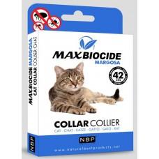 Натурална противопаразитна каишка за котки с маргоза - 42 см
