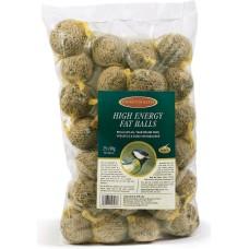 J&J High Energy Fatballs Wrapped 25 pcs, 90 g - Мастни топки за диви птици от семена 25 броя х 90 гр - 25136