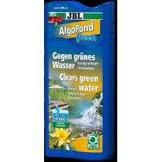 JBL AlgoPond Green - Премахва проблемите с позеленяването на водата (плуващи алги) - 250 мл (за около 5000 литра вода), Германия - 2606400