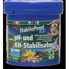 JBL StabiloPond KH - стабилизатор за рН - балансира стойностите на рН в оптималните граници от 7,5-8,5, като увеличава КН, абсорбира тежките метали - 250 гр, Германия - 2731700