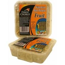 Dawn Chorus fat feast fruity - Високоенергиен блок за диви птици от семена с градински плодове - 2857