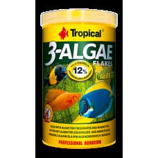 TROPICAL 3-ALGAE FLAKES люспи, богати на водорасли