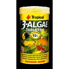 TROPICAL 3-ALGAE TABLETS A - самозалепващи се за аквариумното стъкло таблетки