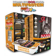 Alpha Spirit MULTI-PROTEIN SEMI-MOIST Copmplete - Полу-суха храна за кучета от всички породи Мулти-протеинова 1,5кг (7х210г)