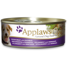 Applaws Chicken & Vegetable - Месни хапки с пилешко филе и зеленчуци 156 гр