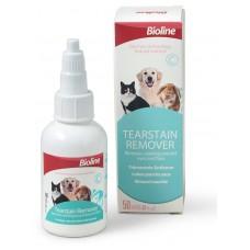 BIOLINE - Капки за почистване на козината около очите, за кучета, котки и гризачи, 50 мл - 310170-02