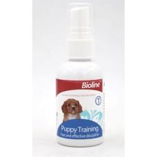 BIOLINE - Спрей Пъпи тренер, бързо и ефективно обучение на кучета, къде да ходят до тоалетна, 50 мл - 310180-01