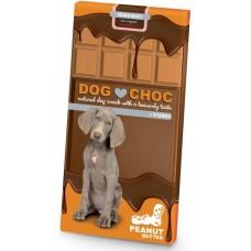 EBI DogChoc - Шоколад Без Захар, с Витамини и Биотин - Фъстъчено масло 100 гр