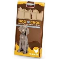 EBI DogChoc - Шоколад Без Захар, с Витамини и Биотин - Пиле 100 гр