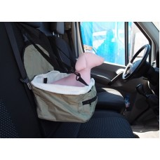 Кош за транспортиране на домашен любимец в автомобил 34х26х18 см 390168-02